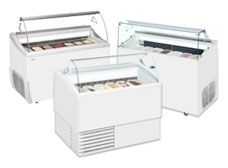 Static Ice Cream Display Freezers