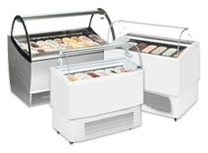 Ventilated Ice Cream Display Freezers